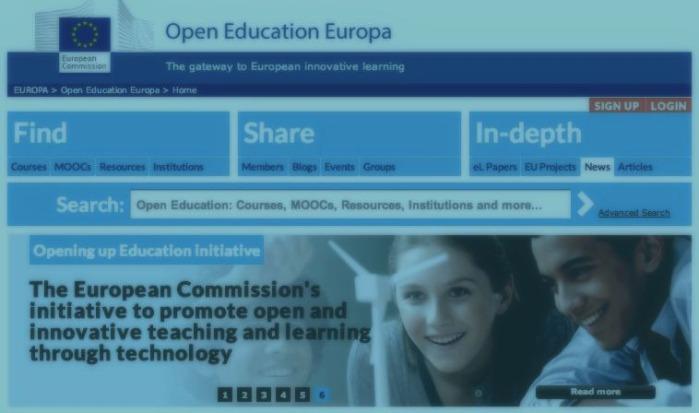 """La web """"Open Education Europa"""", ha cerrado sus puertas ¿Objetivoconseguido?"""